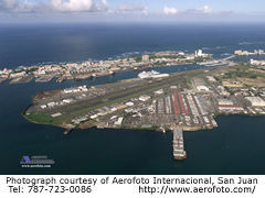 Aerial photo of TJIG (Fernando Luis Ribas Dominicci Airport)
