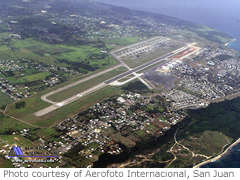 Aerial photo of TJBQ (Rafael Hernandez Airport)