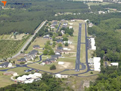 Aerial photo of SC99 (Whiteplains Airport)
