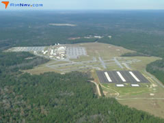 Aerial photo of KLOR (Lowe Army Heliport (Fort Rucker))