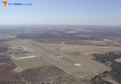 Aerial photo of KBWD (Brownwood Regional Airport)