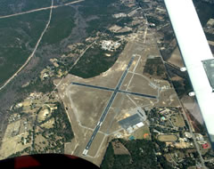 Aerial photo of KCDN (Woodward Field Airport)