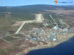 Aerial photo of PAKK (Koyuk Alfred Adams Airport)