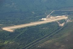 Aerial photo of PAIM (Indian Mountain LRRS Airport)
