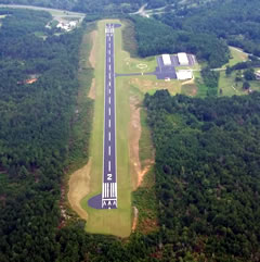 Aerial photo of 1A3 (Martin Campbell Field Airport)