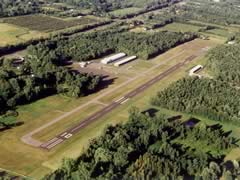 Aerial photo of KSDC (Williamson-Sodus Airport)