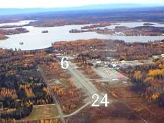 Aerial photo of PAGQ (Big Lake Airport)