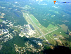 Aerial photo of KFAY (Fayetteville Regional Airport/Grannis Field)