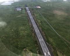 Aerial photo of PASN (St Paul Island Airport)