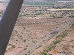 Aerial photo of AZ38 (Rittenhouse Army Heliport)