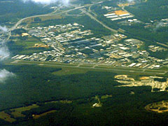 Aerial photo of KOFP (Hanover County Municipal Airport)
