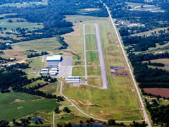Aerial photo of 8A0 (Albertville Regional Airport-Thomas J Brumlik Field)
