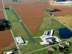 Aerial photo of 12G (Shelby Community Airport)
