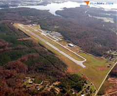 Aerial photo of KCEU (Oconee County Regional Airport)