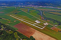 Aerial photo of KFYG (Washington Regional Airport)