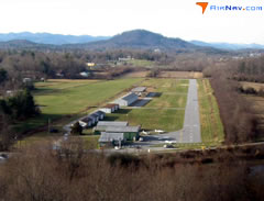 Aerial photo of 0A7 (Hendersonville Airport)