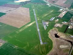 Aerial photo of 9V9 (Chamberlain Municipal Airport)