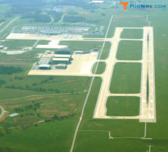 Aerial photo of KXNA (Northwest Arkansas National Airport)