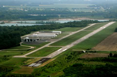 Aerial photo of I19 (Greene County-Lewis A Jackson Regional Airport)