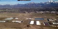 Aerial photo of U42 (South Valley Regional Airport)