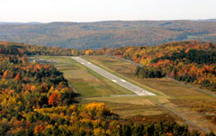 Aerial photo of N66 (Oneonta Municipal Airport)