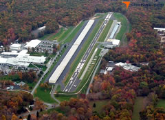 Aerial photo of KSNC (Chester Airport)