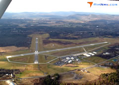 Aerial photo of KGFL (Floyd Bennett Memorial Airport)