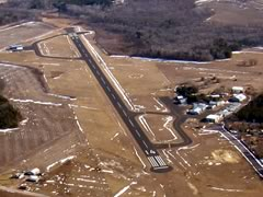 Aerial photo of 82C (Mauston-New Lisbon Union Airport)