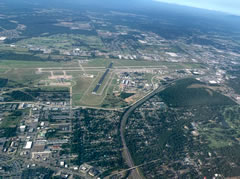 Aerial photo of KFSM (Fort Smith Regional Airport)