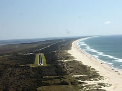 Aerial photo of W95 (Ocracoke Island Airport)