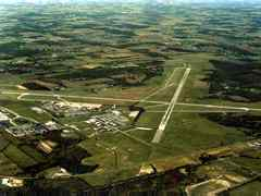 Aerial photo of KMFD (Mansfield Lahm Regional Airport)