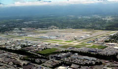 Aerial photo of PAMR (Merrill Field Airport)