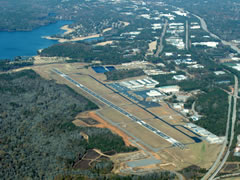Aerial photo of KFFC (Atlanta Regional Airport-Falcon Field)