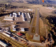 Aerial photo of KJAQ (Westover Field / Amador County Airport)