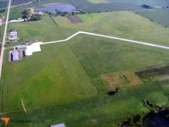 Aerial photo of KEGQ (Emmetsburg Municipal Airport)