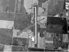 Aerial photo of KJYR (York Municipal Airport)