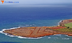 Aerial photo of PHPA (Port Allen Airport)