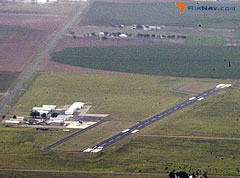 Aerial photo of F49 (Slaton Municipal Airport)