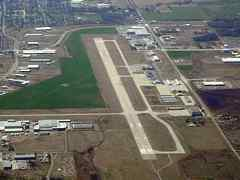 Aerial photo of KPNC (Ponca City Regional Airport)