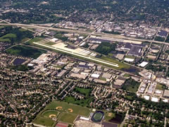 Aerial photo of 06C (Schaumburg Regional Airport)