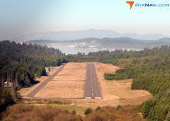 Aerial photo of S45 (Siletz Bay State Airport)