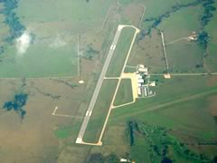 Aerial photo of KEMP (Emporia Municipal Airport)