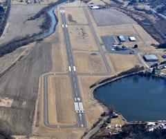 Aerial photo of KOIC (LT Warren Eaton Airport)
