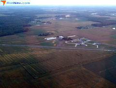 Aerial photo of 3K6 (St Louis Metro-East Airport/Shafer Field)