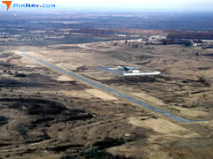 Aerial photo of 4O4 (Mc Curtain County Regional Airport)