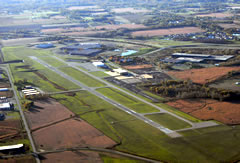 Aerial photo of KBIV (West Michigan Regional Airport)
