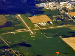Aerial photo of 77G (Marlette Airport)