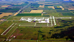 Aerial photo of KGFK (Grand Forks International Airport)