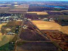 Aerial photo of 4F9 (La Moure Rott Municipal Airport)