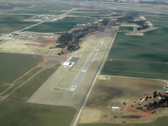 Aerial photo of 2O8 (Hinton Municipal Airport)